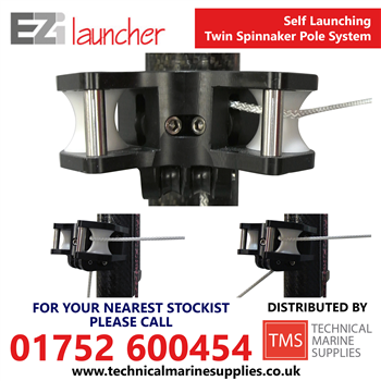 Technical Marine Supplies - EZi Launcher Self Launching Twin Spinnaker Pole System - VERSION 2