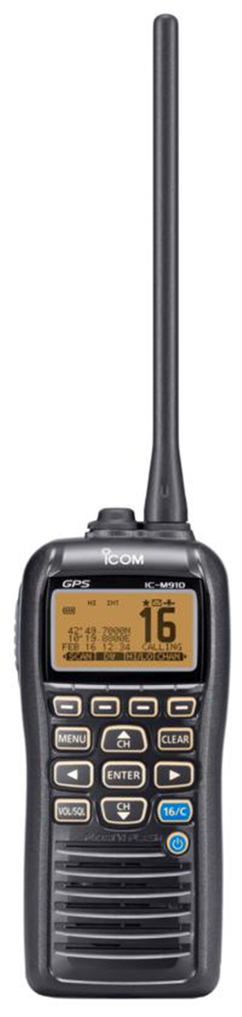 ICOM IC-M91D Buoyant VHF/DSC Handheld with GPS