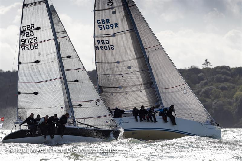 Protis, Quarter Tonner, during the HYS Hamble Winter Series - photo © Paul Wyeth / www.pwpictures.com