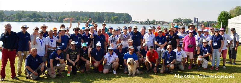 All participants at the IRSA World Championship Radio Sailing 2018 - photo © Alessia Carmignani