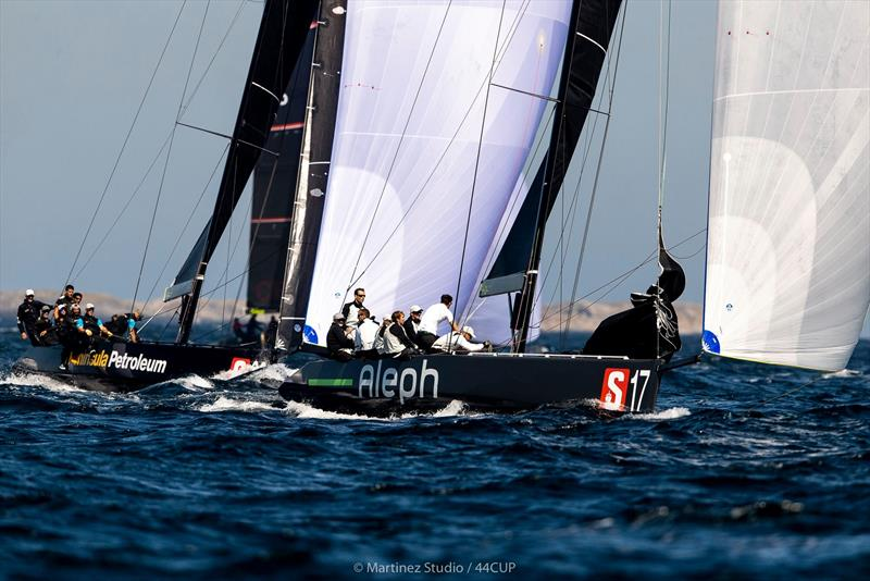 Hugues Lepic's Aleph Racing continued her winning ways today following her victory at the Adris 44Cup Rovinj - 44Cup Marstrand World Championship 2019 - photo © Pedro Martinez / Martinez Studio