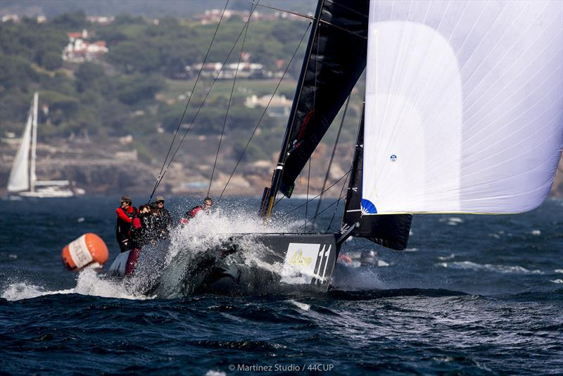 Igor Lah's Team CEEREF was like a team reborn today, showing their old form on their owner's birthday - 44Cup Cascais - photo © Pedro Martinez / Martinez Studio