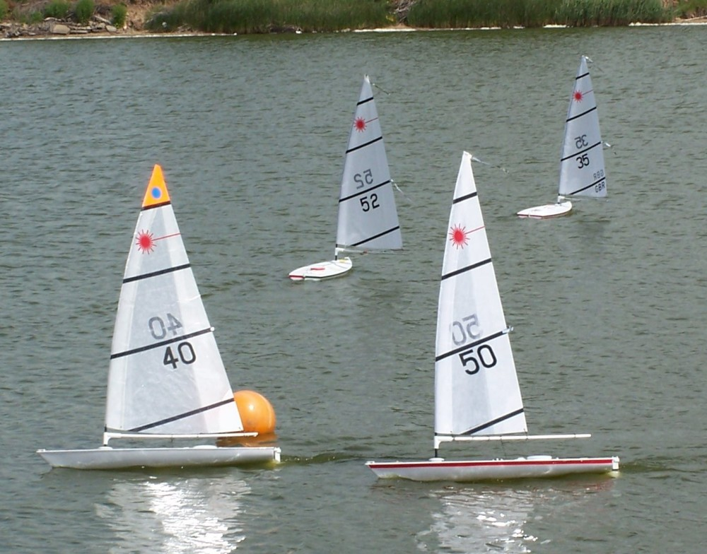 Rc Lasers At Snettisham Beach Sailing Club