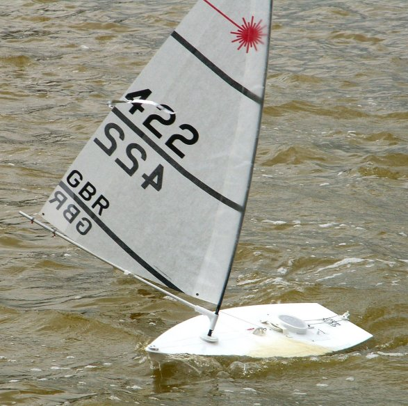 Remote Controlled Version Of The Laser Dinghy