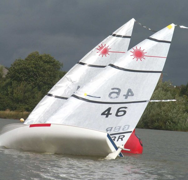 Two Islands Rc Laser Open At Milton Keynes Sailing Club
