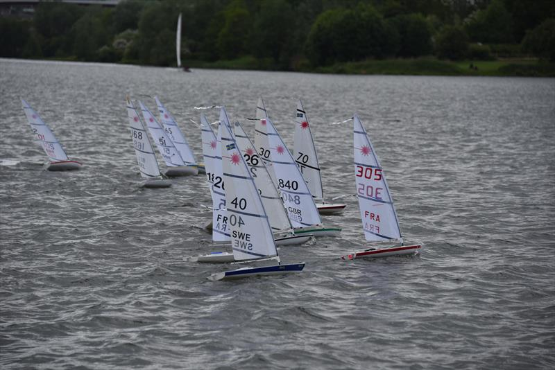 RC Laser Europeans at Valenciennes, France photo copyright Marc Albiges taken at  and featuring the RC Laser class