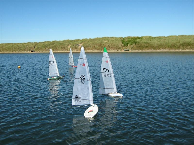 RC Lasers Autumn Series at Fleetwood day 1 - photo © Tony Wilson