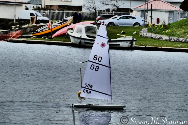 RC Laser National TT and Northern Series at West Lancs photo copyright Susan Sharman taken at West Lancashire Yacht Club and featuring the RC Laser class