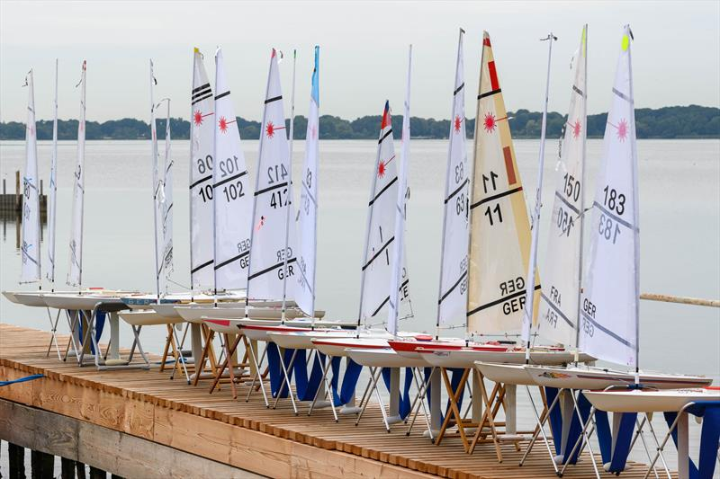 RC Laser European Championship at Bad Zwischenahn, Northern Germany - photo © Geoff Curtis