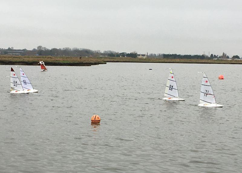 Medway RC Laser Winter Series Round 5 photo copyright Jamie Blair taken at  and featuring the RC Laser class
