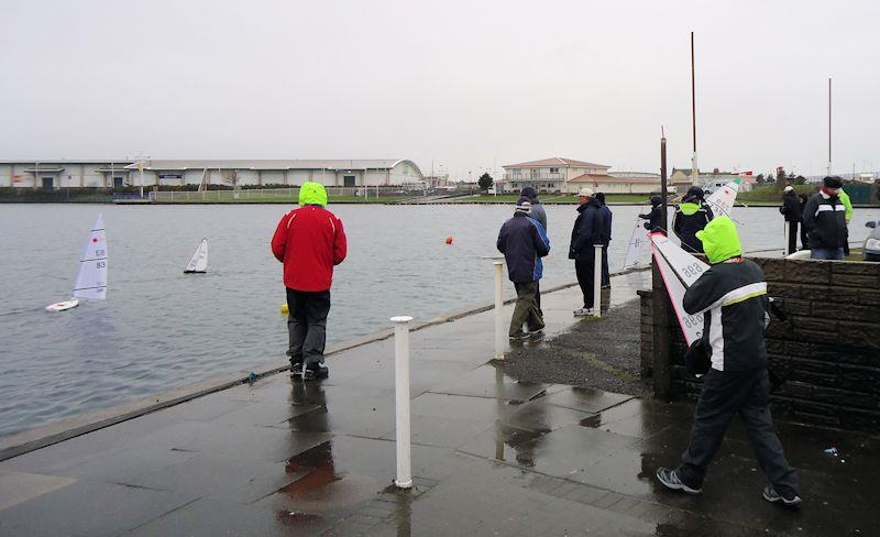 RC Laser and DF65 Winter Series at Southport (West Lancs) - photo © Tony Wilson