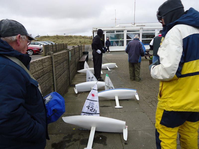 RC Laser and DF65 Winter Series finale at Southport (West Lancs) - photo © Tony Wilson