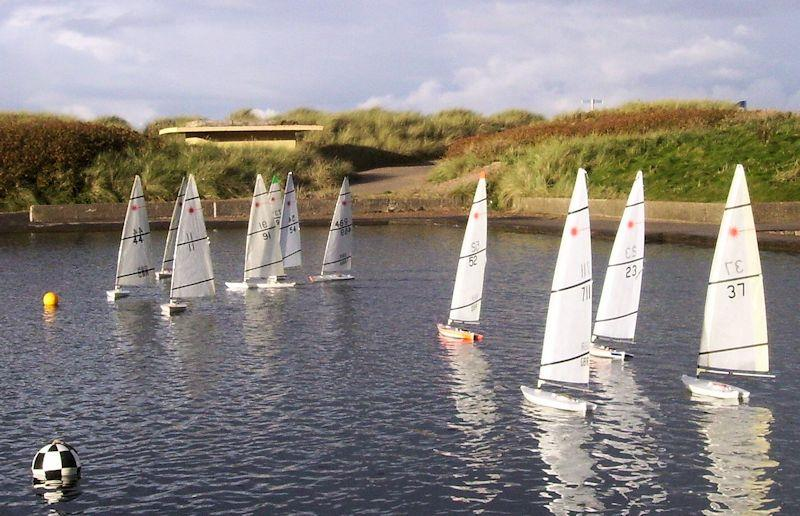 Rc Laser Northern Series At Fleetwood Model Yacht Club