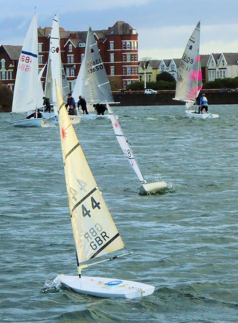RC Laser Northern Series concludes at West Lancs photo copyright Neil Croston taken at West Lancashire Yacht Club and featuring the RC Laser class