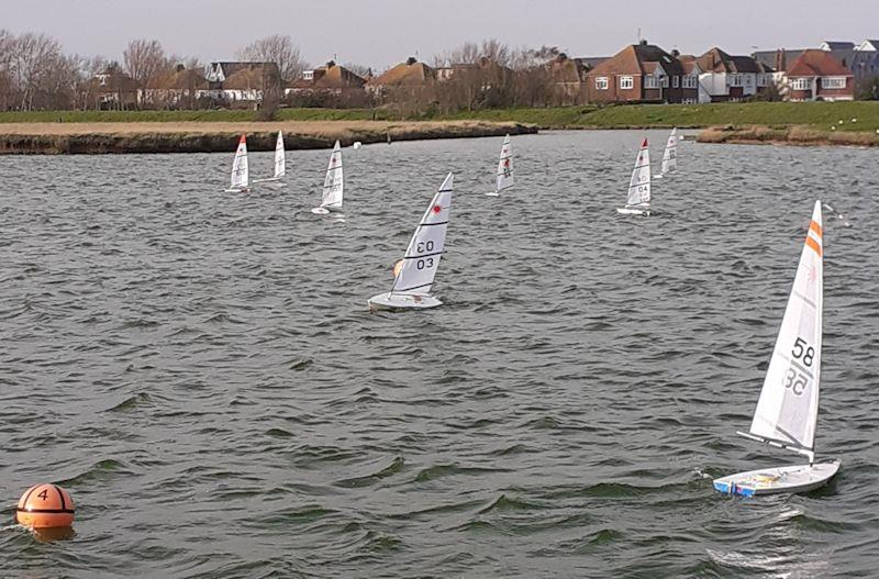 RC Laser Winter Series event 8 at Medway photo copyright Jamie Blair taken at  and featuring the RC Laser class