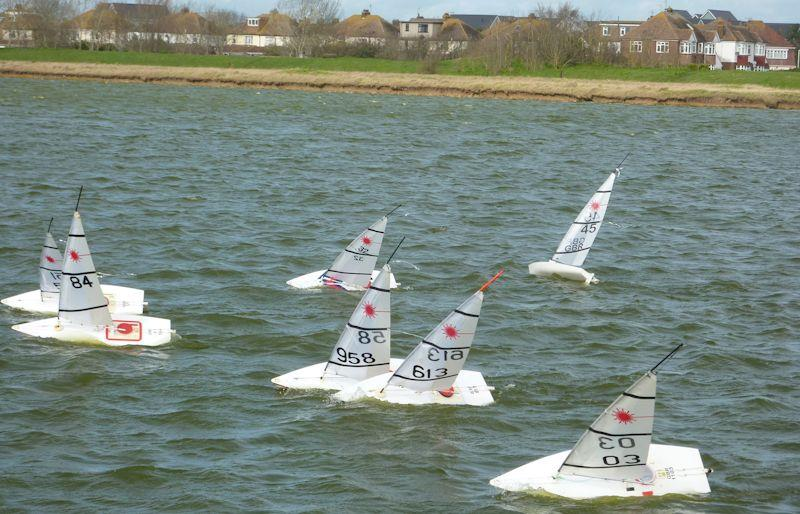 RC Laser Winter Series event 11 at Medway - photo © Fiona Blair