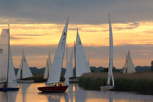 Three Rivers Race 2019 photo copyright Adrian Hammond taken at Horning Sailing Club and featuring the River Cruiser class