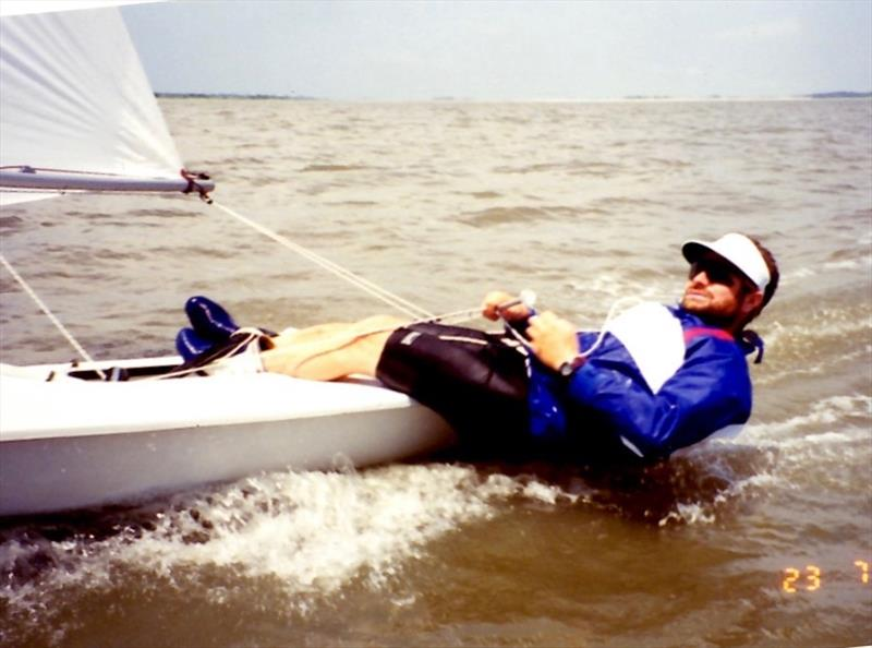 Steve during the Pre-Olympics at Savannah in 1994 - photo © John Derbyshire