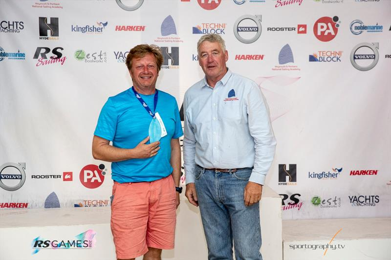 RS100 Europeans prizegiving at the RS Games 2018 - photo © Alex & David Irwin / www.sportography.tv
