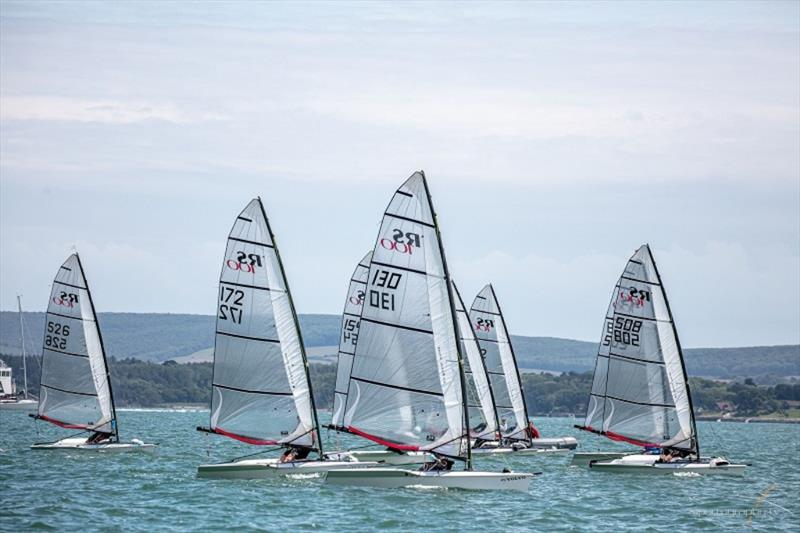 RS100s Rooster RS Summer Regatta 2019 at Lymington Town Sailing Club photo copyright sportography taken at Lymington Town Sailing Club and featuring the RS100 class