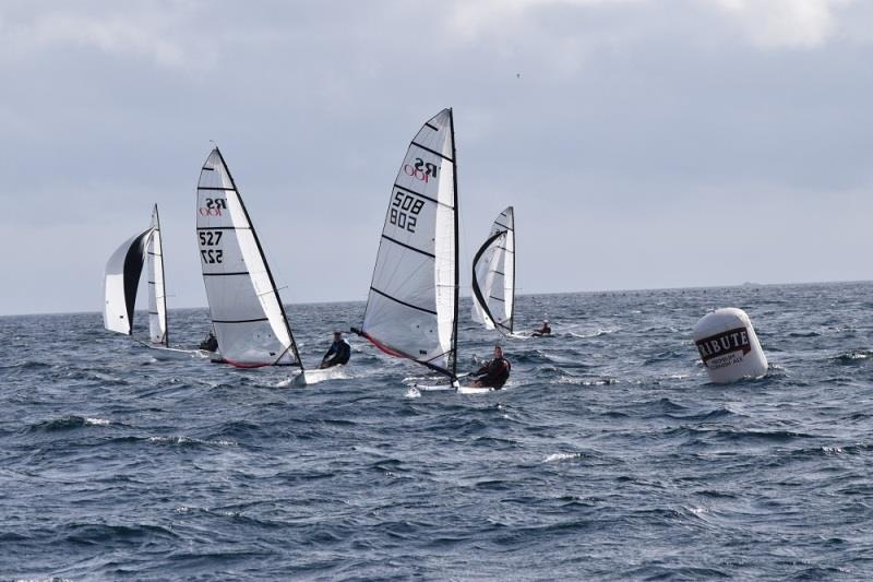 Volvo Noble Marine RS100 National Championships 2019 - photo © Ken Fobbester