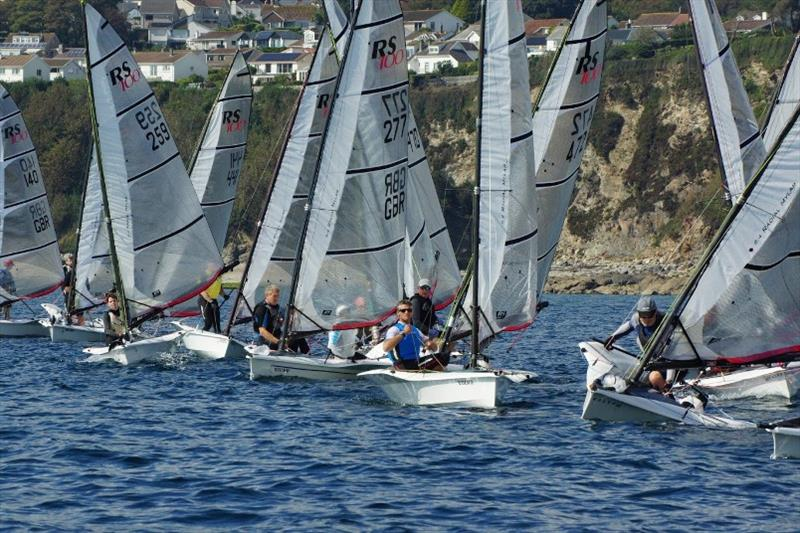 Volvo Noble Marine RS100 Nationals, day 2 - photo © Chris Bilkey