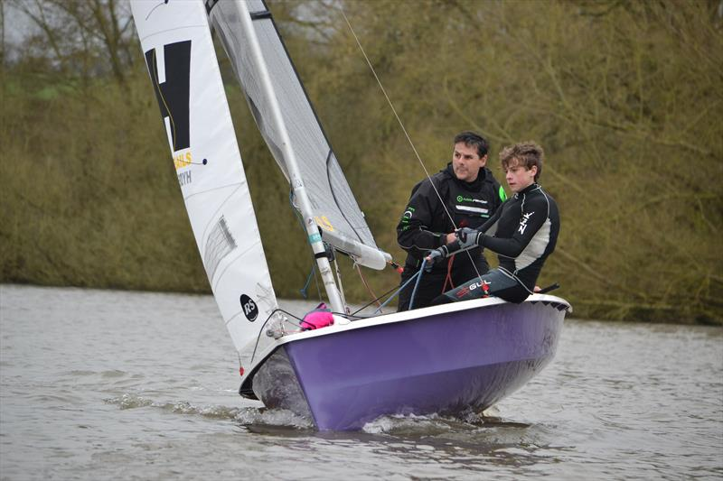 Dave Stubbs and Max Helston finished 5th overall at Sutton Bingham in their RS200 photo copyright Saffron Galagher taken at Sutton Bingham Sailing Club and featuring the RS200 class