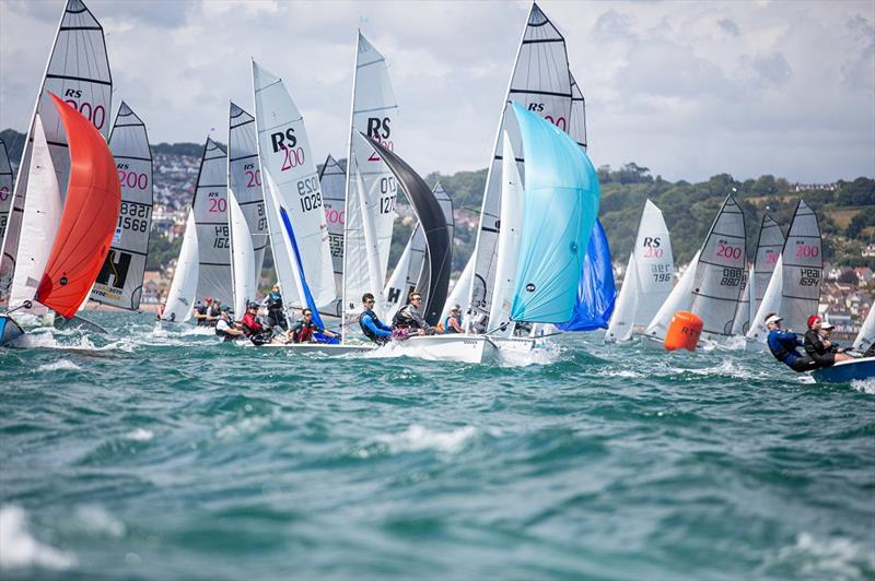 Volvo Noble Marine RS200 Nationals at Torbay day 1 - photo © Rudder Stock Photos