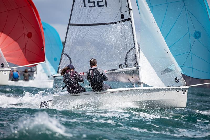 Volvo Noble Marine RS200 National Championships at Royal Torbay Yacht Club - Day 1