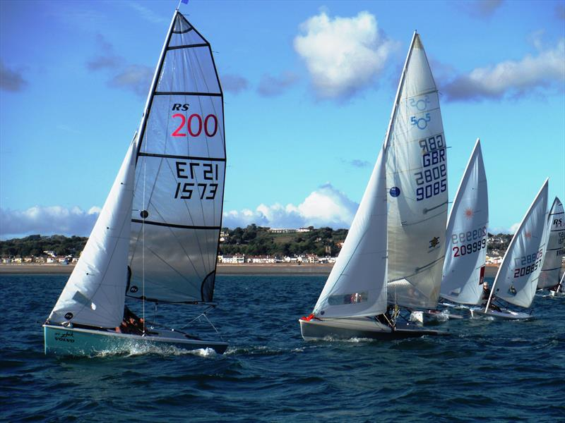 Dinghy start during the Jersey Regatta - photo © Bill Harris