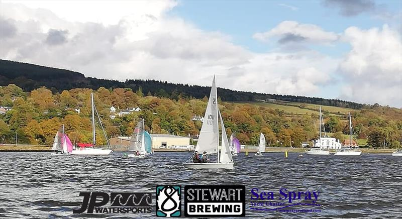 Champagne conditions on the Clyde (between the showers) during the RS200 Sprints at Helensburgh - photo © Helensburgh SC