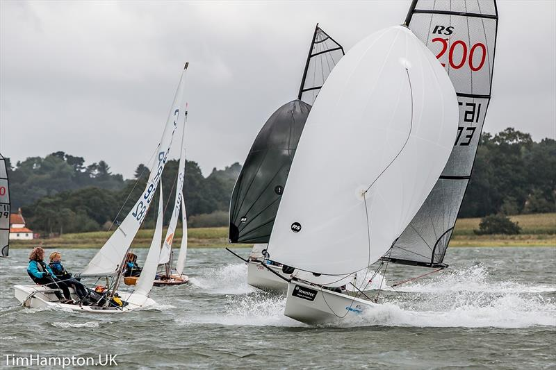 Cadet and U21 RS200 Open Weekend at Waldringfield Sailing Club sponsored by Seamark Nun