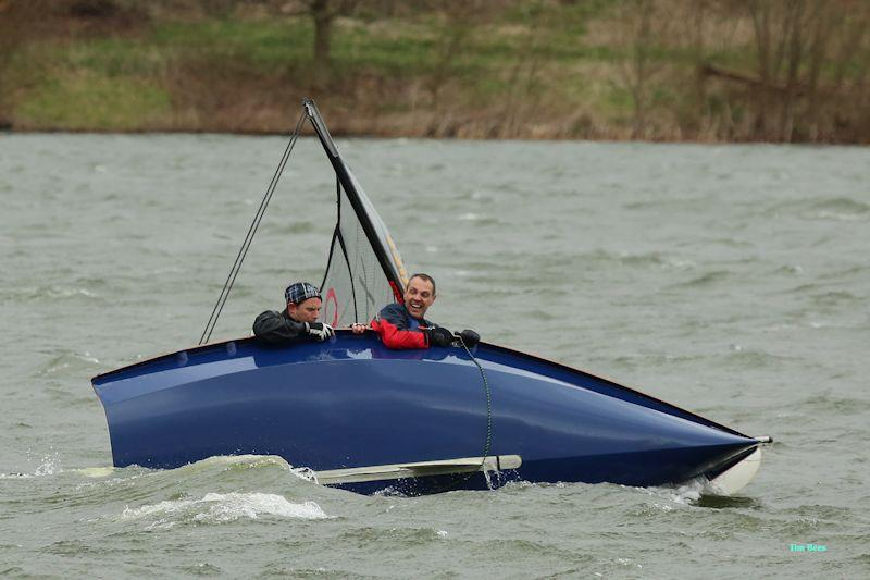 And they're still smiling - week 8 of the Alton Water Fox's Chandlery & Anglian Water Frostbite Series photo copyright Tim Bees taken at Alton Water Sports Centre and featuring the RS200 class
