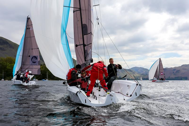 British Keelboat League Qualifier at Ullswater - photo © Phil Jackson / Digital Sailing