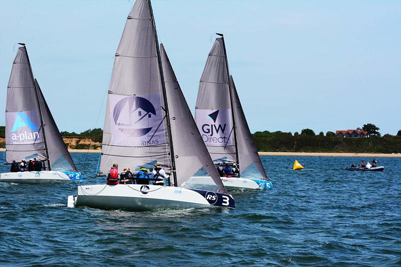 RS21s at the Women's Open Keelboat Championship - photo © Trevor Pountain