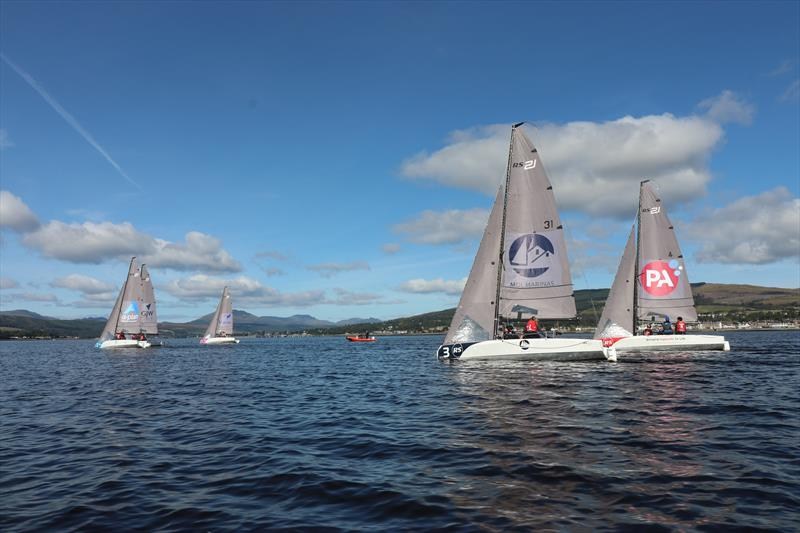British Keelboat League Northern Qualifier at the Royal Northern and Clyde YC - photo © RS Sailing