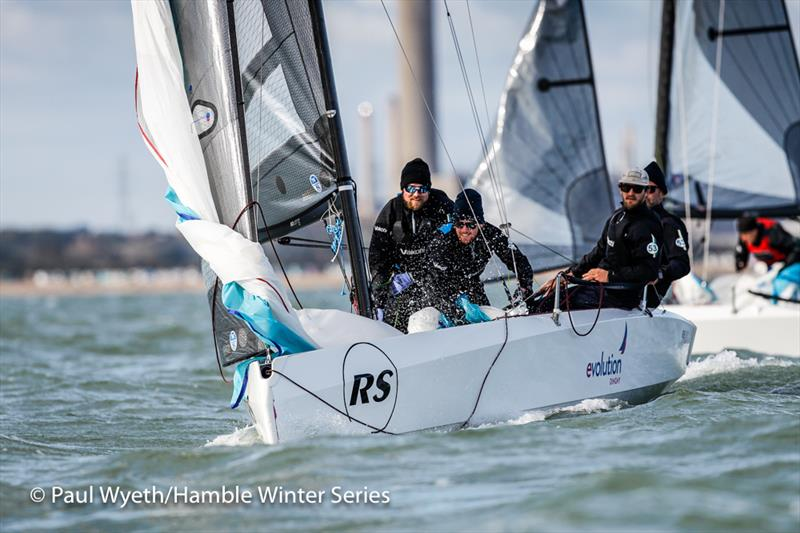 RS21 UK Nationals on Week 3 of the HYS Hamble Winter Series - photo © Paul Wyeth / www.pwpictures.com