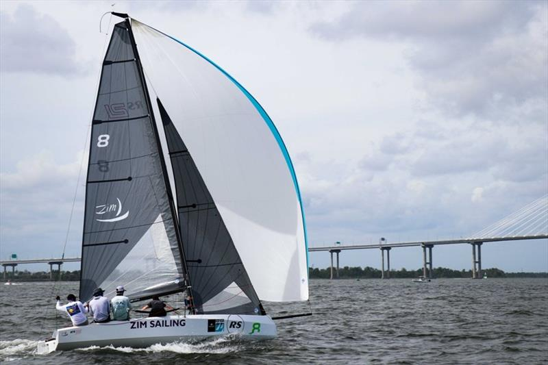 RS21 downwind - Charleston Race Week 2019 - photo © RS Sailing