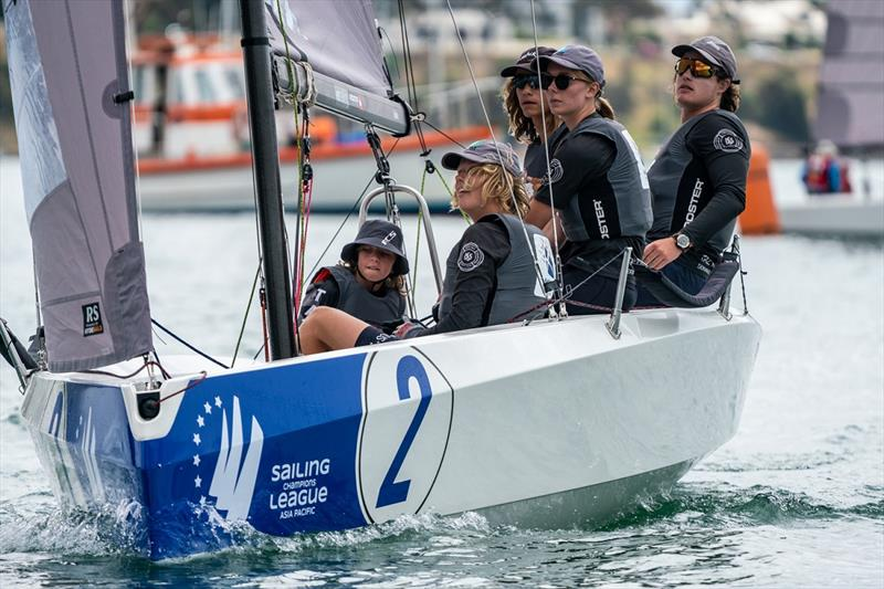 SAILING Champions League Asia Pacific Southern Qualifiers - TAZ Racing Team 2nd overall and top youth team - photo © Beau Outteridge