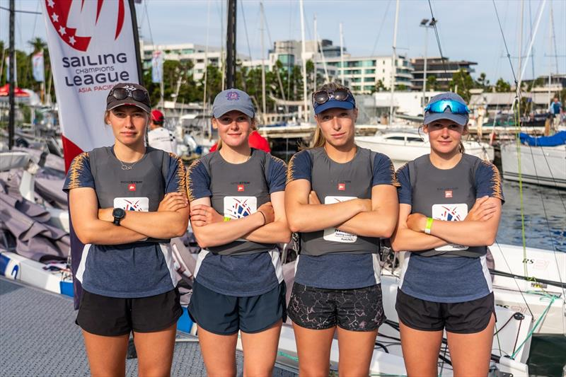 SAILING Champions League Asia Pacific Southern Qualifiers - RBYC winning women's team skippered by Laura Harding - photo © Beau Outteridge