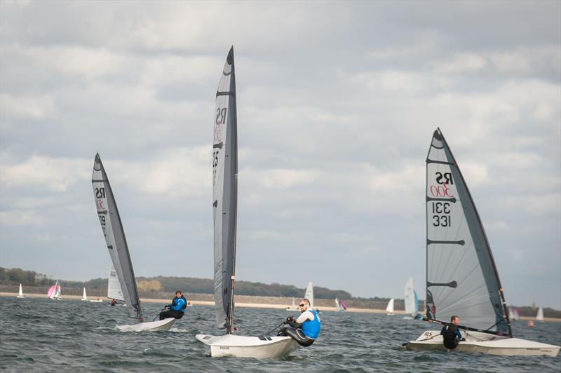 A trio of RS300s in the RS End of Seasons Regatta at Rutland - photo © Peter Fothergill / www.fothergillphotography.com