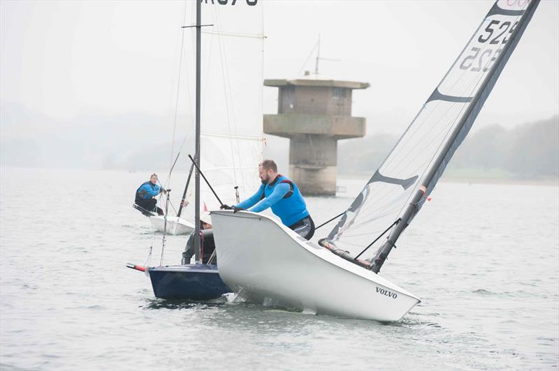 Close tacking RS300s in the RS End of Seasons Regatta at Rutland - photo © Peter Fothergill / www.fothergillphotography.com