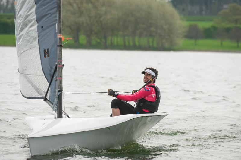RS300 fleet in action at RS Sprint Championship 2018 - photo © Peter Fothergill