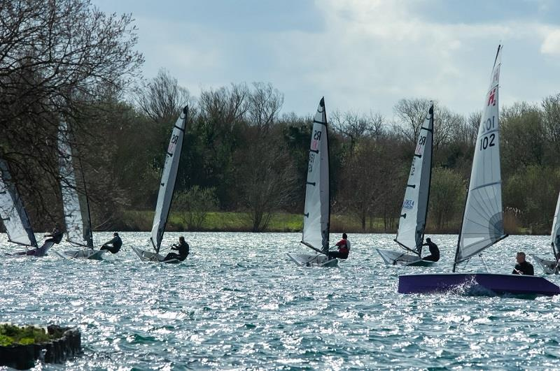 RS300 Spring Open and Rooster National Tour event at South Cerney Sailing Club