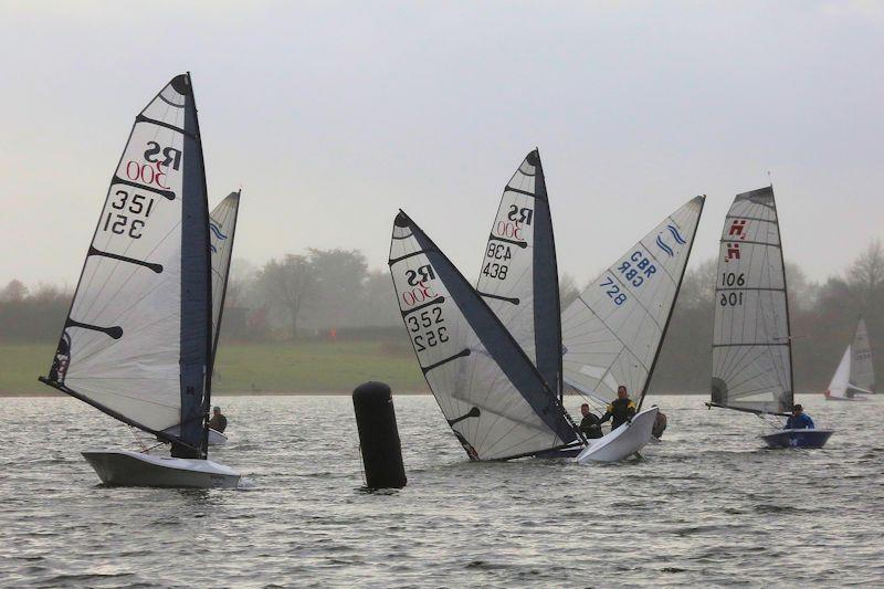Week 1 of the Alton Water 2020 Fox's Chandlery & Anglian Water Frostbite Series - photo © Tim Bees