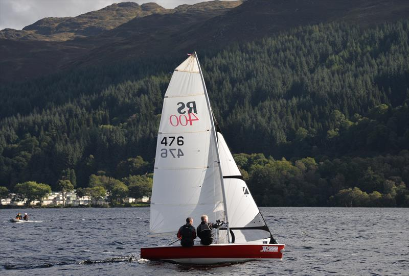 Martin Booth & Keith Bedborough during the RS400 Scottish Travellers event at Loch Earn - photo © Colin Tait