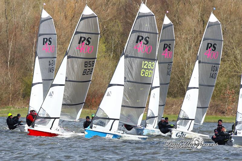 RS400 Rope4Boats and Rooster Winter Championship at Leigh Lowton Sailing Club