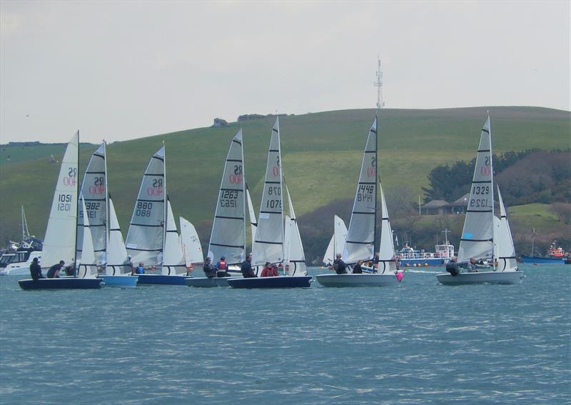 RS400s at Salcombe photo copyright Margaret Mackley taken at Salcombe Yacht Club and featuring the RS400 class