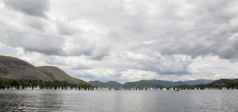 RS400s at the Ullswater Lord Birkett Memorial Trophy - photo © Tim Olin