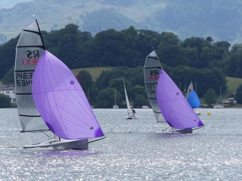 RS400s at the Ullswater Lord Birkett Memorial Trophy - photo © Pauline Thompson